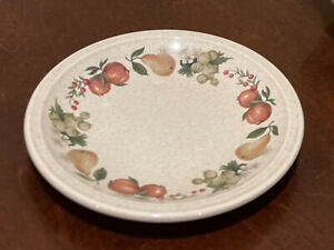 Wedgwood Quince 6 1/4 Inch Bread Plate Fruit Ring Made in England