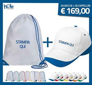 Cappellini e Sacche Personalizzati Personalizzate Gadget Promozionali Aziendali