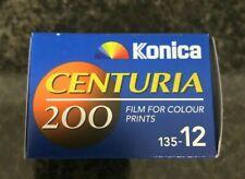 KONICA centuria 200 - 12 EXP 35 film expired film