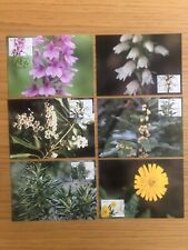 Madeira - 2000 Plants from Madeira Bay Complete - Maxi Cards