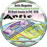 Antic Magazine 88 Pdfs Atari home computer magazine DVD