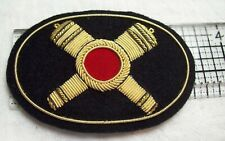 Civil War reenactors Hat Badge Large Artillery #1