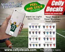 Football Celly Decals-Personalized