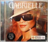 """Gabrielle - Play to Win (CD 2004) Features """"Stay The Same"""""""