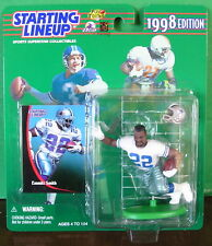1998 Emmitt Smith Dallas Cowboys Starting Lineup mint in pkg w/ football card