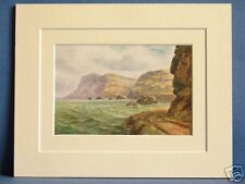 FAIR HEAD CO. ANTRIM ULSTER IRELAND VINTAGE MOUNTED PIC