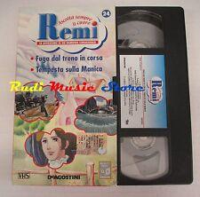 film VHS cartone REMI  NR. 24  - 2  EPISODI - DE AGOSTINI 2004 (F9)  no dvd