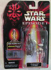Star Wars - Episode 1 - Action Figure - GASGANO W/ Pit Droid W/ CommTech Chip
