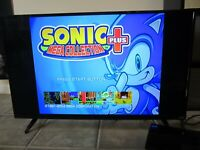 TESTED COMPLETE Sonic Mega Collection Plus + Sony Playstation 2 PS2 Sega 2004