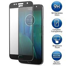Motorola Moto G5S Plus [FULL COVER] Tempered Glass Screen Protector Guard Shield
