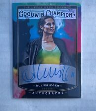 2020 Goodwin Champions Ali Krieger Splash Of Color Autograph