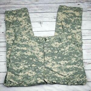 US Military Army Combat Trouser Digital Camo Men's Cargo Pants Large Regular