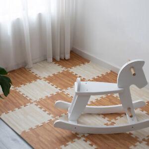 LN_ IC- 4Pcs Square Foam Floor Mat Children Crawling Pad Bedroom Living Room C