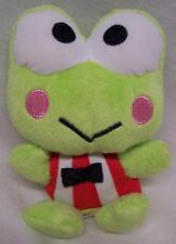 """Sanrio Hello Kitty KEROPPI THE FROG 4"""" Plush STUFFED ANIMAL Toy"""