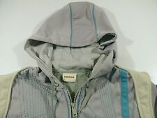 HS01 Vintage DIESEL hooded lined track jacket hoodie, size M, great condition!