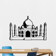 Taj Mahal Palace Wall Decal Castle Vinyl Sticker Art Bedroom Turkish Decor 83hor