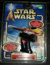 Star Wars Attack of the Clones AOTC Jedi Starfighter Galactic Chase SFX Game 14G