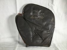 Vintage Baseball Glove Mitt Yale B26 Model Genuine Leather catchers