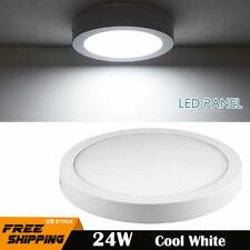 24W LED Ceiling Lights Flush Mount Panel Down Lamp Home Room Lighting White