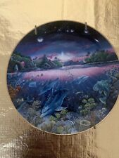 """""""Search For Harmony"""" Collectors Plate By Robert Lyn Nelson From Underwater."""