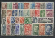 C149 Greece 1924-1942 Small collection with complete sets in fine condition  MNH