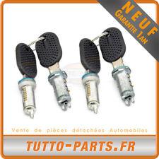 4 Barillets Serrure Porte 4 clés Citroen Jumper Fiat Ducato Peugeot Boxer 9170V3