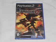 NEW Shadow the Hedgehog Playstation 2 PAL Game PS2 SEALED Sega sonic - UK PAL