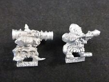 Clásico ciudadela Metal caos enano máquinas de guerra: Bazooka equipo (2)