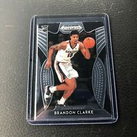 2019-20 Panini Prizm Draft Picks Brandon Clarke Rookie RC #86 Grizzlies