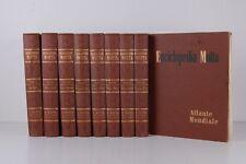Enciclopedia Motta, 2^ edizione, 8 volumi + atlante mondiale.