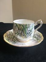 Royal Albert Flower of the Month SNOWDROP Bone China Cup & Saucer
