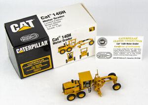 Classic Construction Models Brass CAT 140H Motor Grader Limited Edition #49/1000