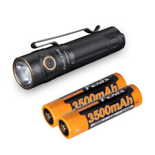 Fenix E30R 1600 Lumen USB Rechargeable EDC Flashlight & 2 Fenix 18650 Batteries