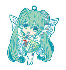 Vocaloid Miku Standing Pose GT Project Rubber Phone Strap