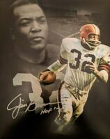Jim Brown Browns HOF Signed Autographed 8 x 10 Photo REPRINT