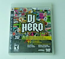 DJ Hero Playstation 3 Ps3 Great Condition Tested