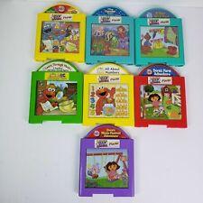 Mattel Learn Through Music 7 Game Cartridges Ariel Dora Elmo Pooh