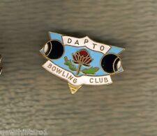 DAPTO   BOWLING CLUB  LAPEL BADGE