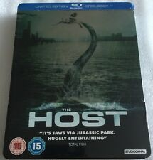 The Host Steelbook - UK Exclusive Limited Edition Blu-Ray **Region B**