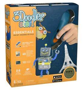3Doodler Start Essentials Pen Set, 3D Printing Pen, 3D Drawing Ages 6-13
