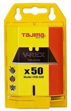 Tajima VRB-50B V-REX Utility Knife Blades, 50 Pack with Dispenser