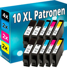 10x cartuchos de impresora para 903 HP OfficeJet 6950 6960 6962 6968 6970 6975 6978