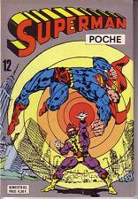 SUPERMAN POCHE  N°12 SAGEDITION