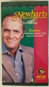 "Newhart - ""Grandma, What a Big Mouth You Have"" (VHS) Bob Newhart, New & Sealed"
