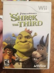 DreamWorks Shrek The Third Nintendo Wii Game With Manual Complete