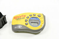 Sony SRF-M78 Sports Walkman AM/FM Stereo Radio w/strap-MISSING BATTERY COVER