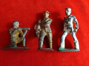 3 Barclay,Manoil Toy Soldiers Lot of 3