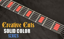 Blocks RED block Fretboard Markers Inlay Sticker Decals for Jaguar or ANY GUITAR