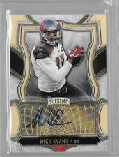 MIKE EVANS 2015 TOPPS SUPREME  AUTO #10/25 BUCS WR
