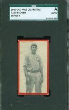1910 T210-6 Old Mill - Badger - Lexington (Blue Grass League) - SGC Auth